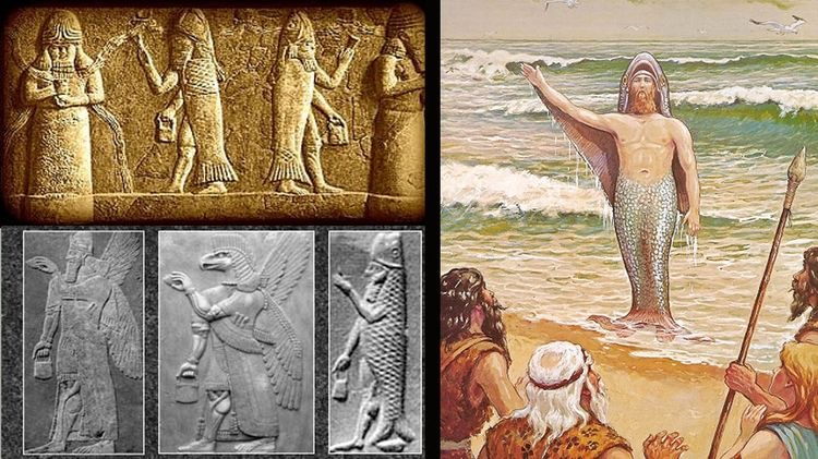 Oannes: the Extraterrestrial God who gave his knowledge to humanity