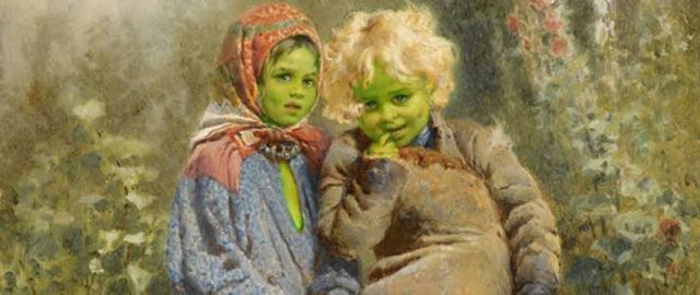 Grüne Kinder von Woolpit