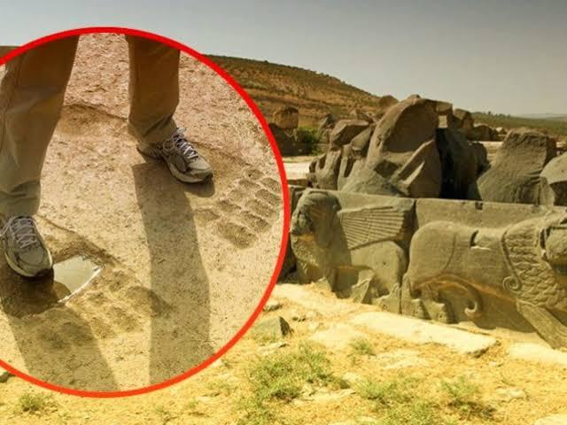 The Mystery of Ain Dara's Giant Footprints: The Mark of the Anunnaki?
