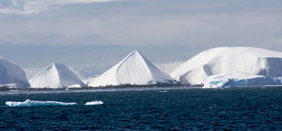 pyramids of Antarctica