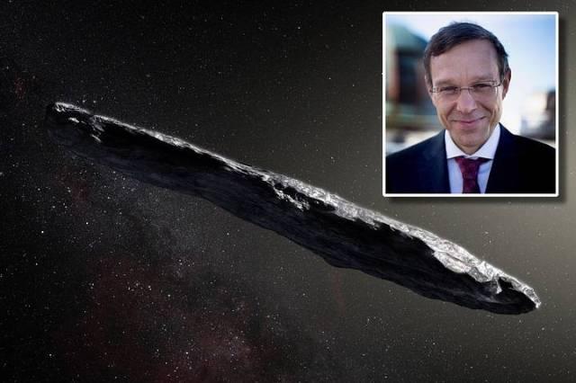 Harvard Professor Avi Loeb Claims Alien Technology Visited Our Solar System In 2017