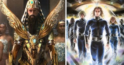 The Hidden Ancient Alien War Between Anunnaki And The Pleiadians