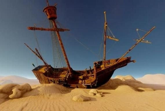 Mysterious Ships Found In Middle Of Deserts: Interdimensional Glitch Or Ancient Technology?