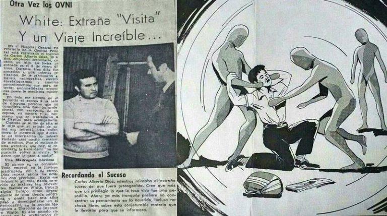 Внеземная троица: похищение  Карлоса Диаса.