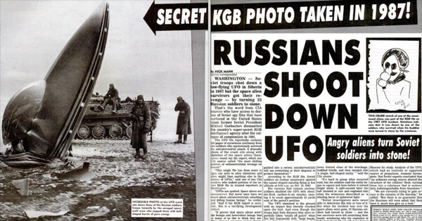 CIA Document Revealed The Alien Attack That Turned 23 Soviet Soldiers Into Stone