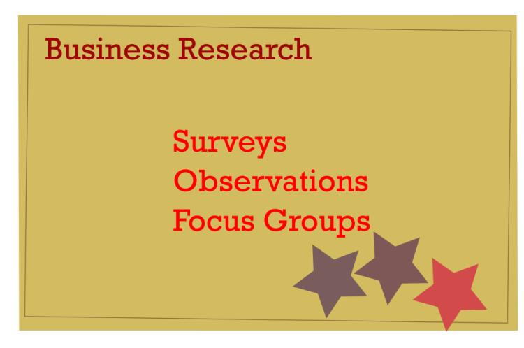 market research creative study