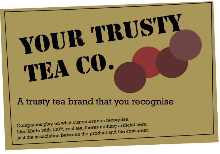 trusty tea co allows product association quality brand reputation