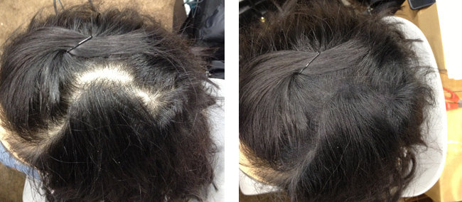 Organin Hair Thickening Fiber  Infinity Hair Fibers