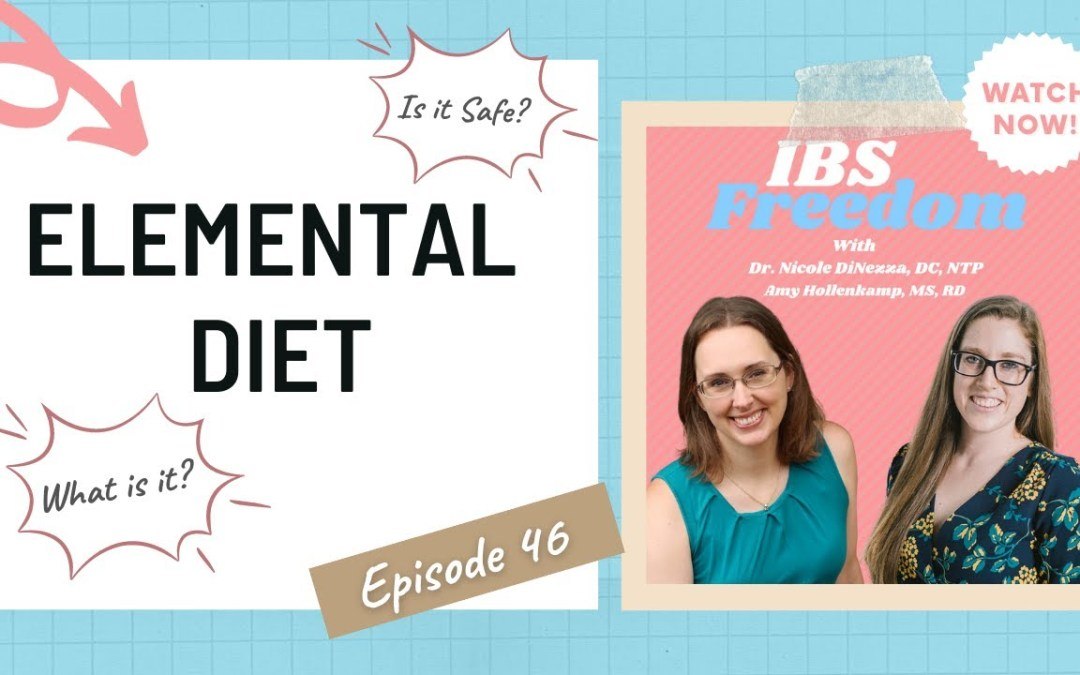 Elemental Diet – What is it and its Pros and Cons? IBS Freedom Podcast #46