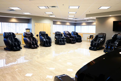 massage chair store heated recliner chairs recliners infinity experience