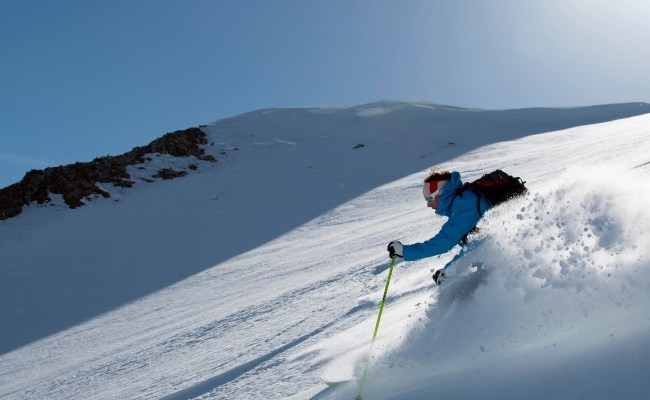 Off Piste Ski Tour Adventure Zinal Switzerland