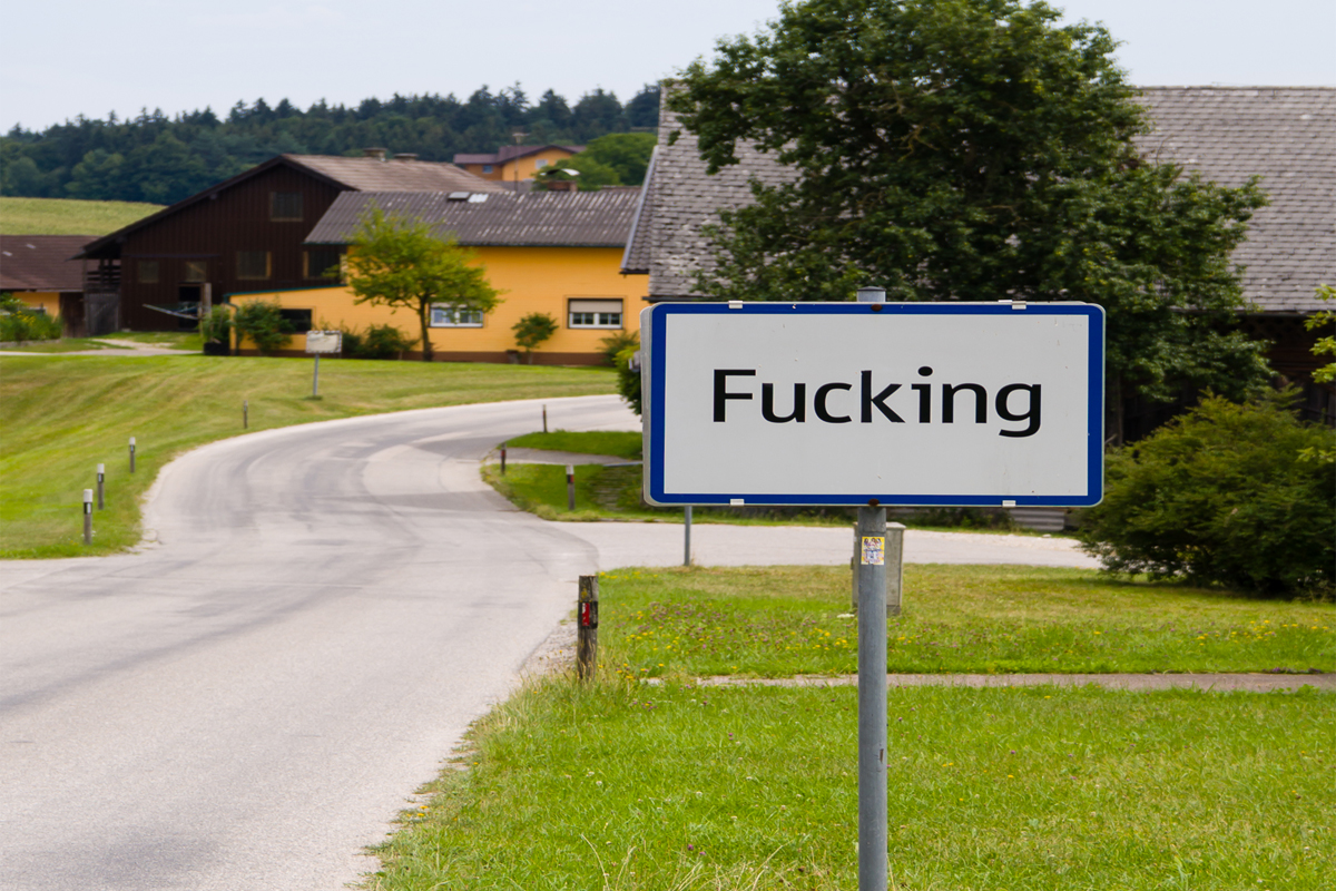 villaggio, austria, fucking, fugging