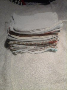 Ses lingettes lavables