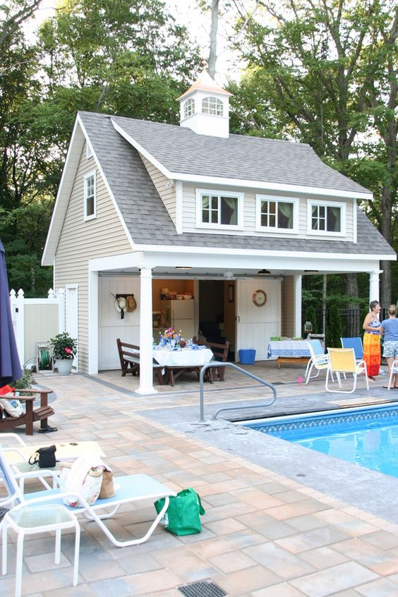 POOL EQUIPMENT SHEDS AND HIDEAWAYS