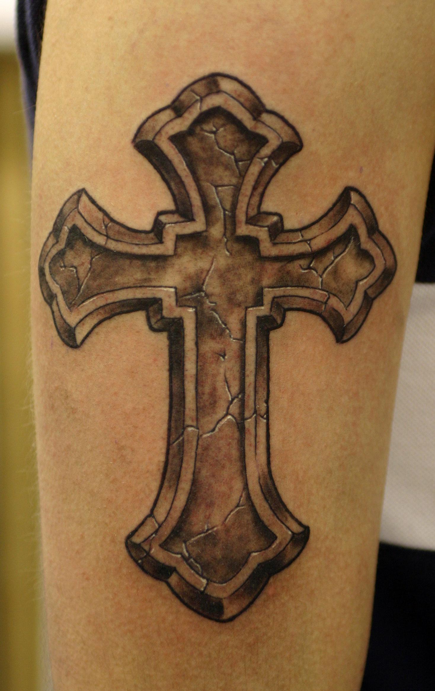 Sweetkissesshop Cross Tattoos