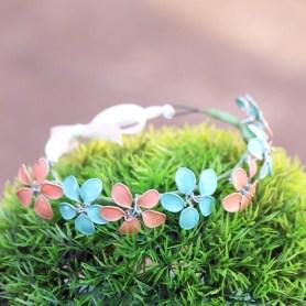 Nail Polish Flower Crown