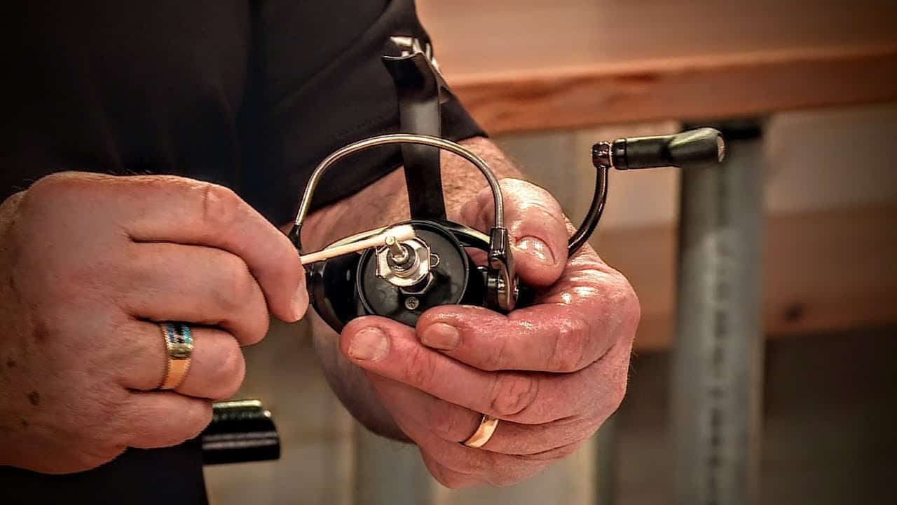 Spinning Reel Maintenance & Cleaning Inside