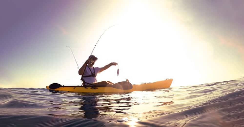 Kayak Fishing in Moving Water