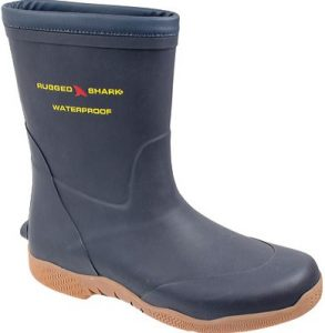 Rugged Shark Great White Fishing Deck Boots