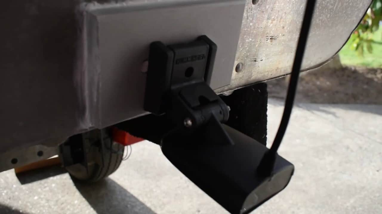 How To Install A Transom Mount Fish Finder Transducer Correctly