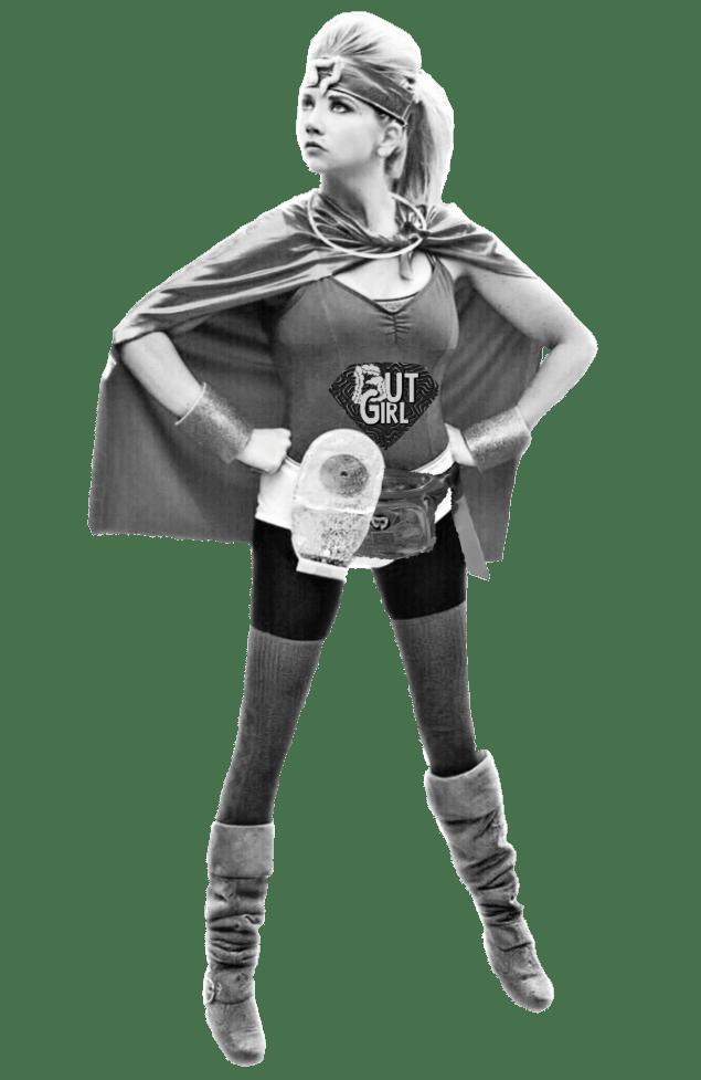 IBD and digestive disease super hero costume