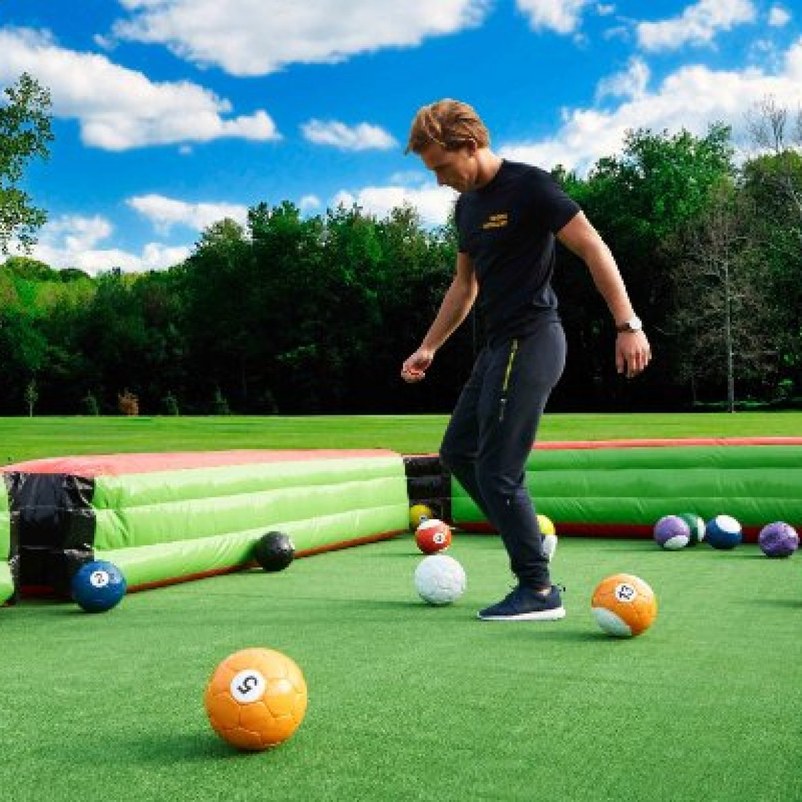 Foot- pool, made in ireland, giant pool table, snookball, giant games (79)