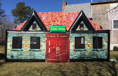 inflatable pub- cape cod