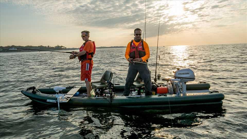 FishSkiff Inflatable Fishing Boat