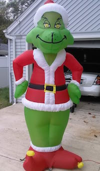Inflatable Grinch Christmas Decorations