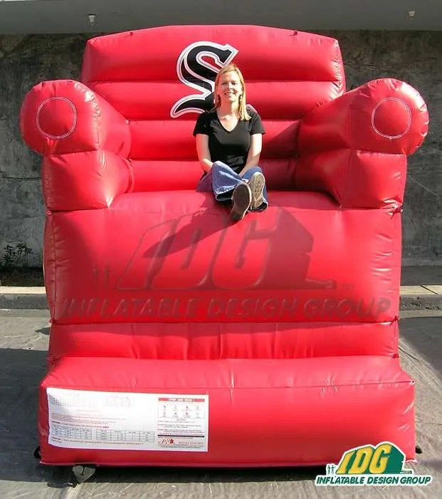 inflatable chairs for adults wheelchair kid drifting chair and couch from design group white sox