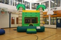 Tropical Jumping Tent | Inflatable Fun