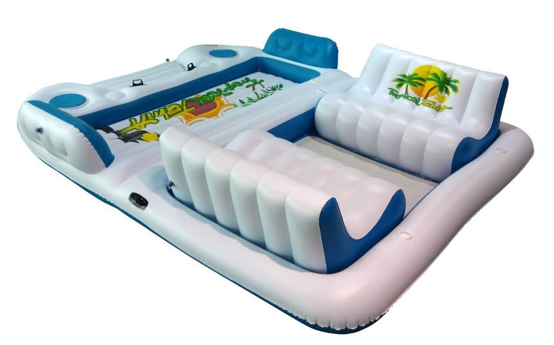 6 person float  Inflatable Island sales