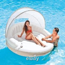 inflatable water chairs for adults zero gravity chair tokopedia floating island swimming pool floats giant lounger