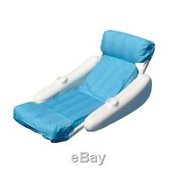 pool floating lounge chairs tommy bahamas beach swimming chair seat inflatable cushion swimline sunsoft new