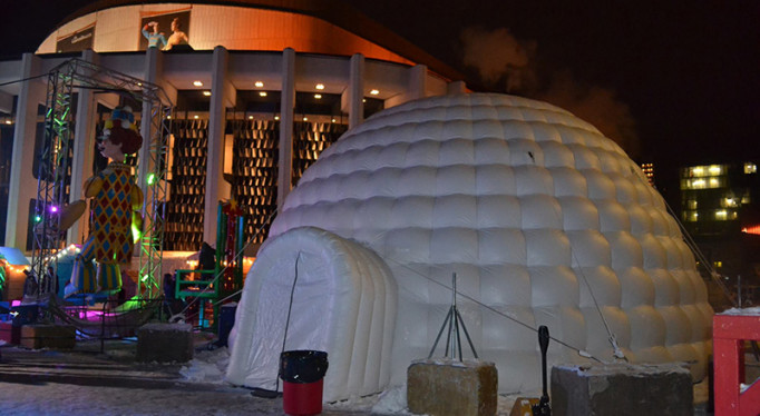 Igloos  Inflatable Tent Inc