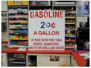 Gas 20 cents