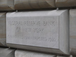 New York Federal Reserve Gold
