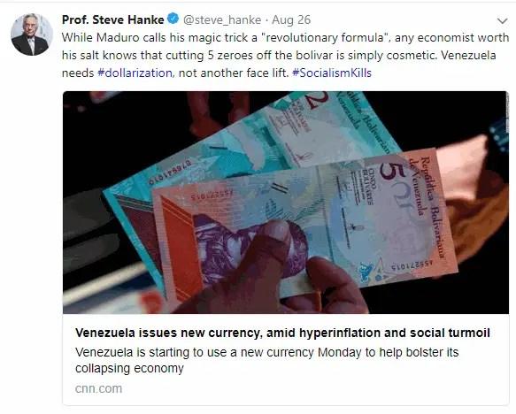 Maduro Magic trick