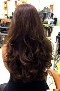 styles to make hair look thicker photo gallery of long ...