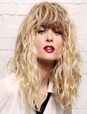 2019 popular long permed hair