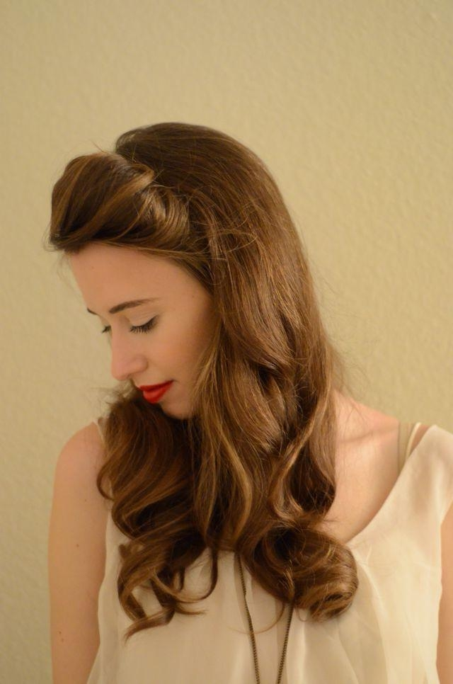 15 Inspirations Of Long Hairstyles Off The Face