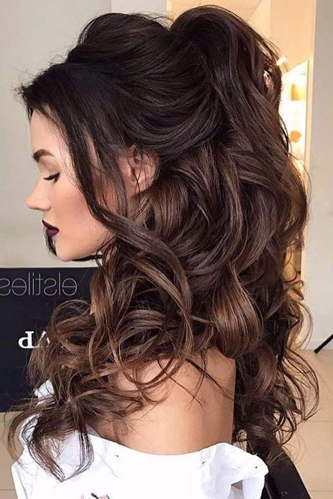 15 Best Collection of Long Hairstyles Prom