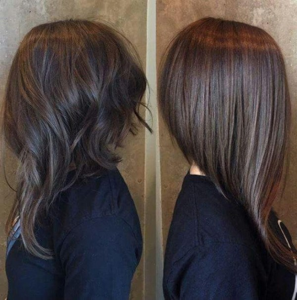 30 Long Angled Bob Hairstyles Front And Back Hairstyles Ideas