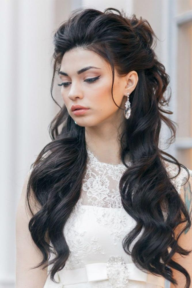 15 Inspirations of Long Hairstyles Down For Wedding