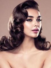 of long hair vintage styles