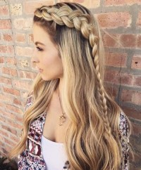 15 Inspirations of Cute Braided Hairstyles For Long Hair