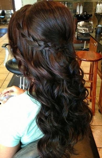 Image Result For Professional Hairstyles For Long Curly Hair