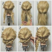2019 latest casual updos long