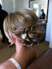 of wedding updos long