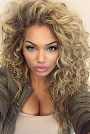 long natural curly hairstyles 2018